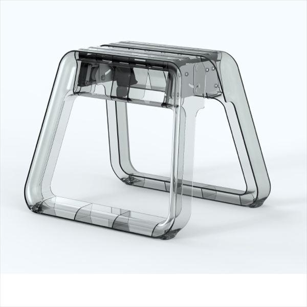 ピカコーポレイション ジェムステップ GEMSTEP クリアガラス GEMS-CG 『ポリカーボネート製踏み台』