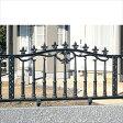 三協アルミ 鋳物フェンス レガンス1型 本体 1006 フリー支柱タイプ 【アルミフェンス 柵】