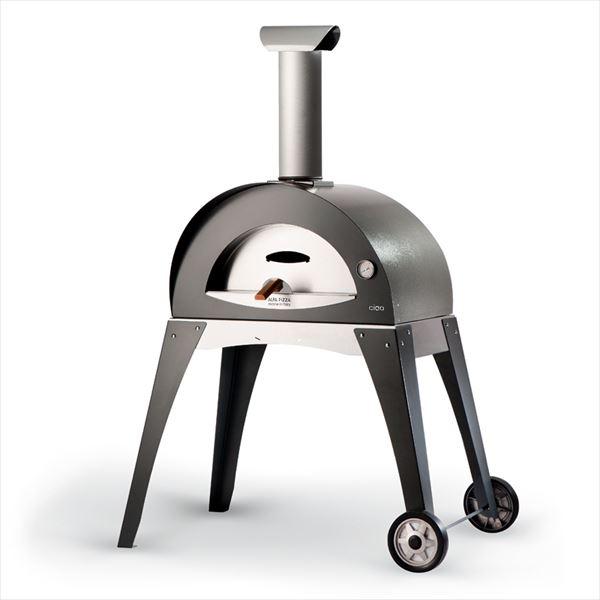 オンリーワン ピザ窯 ALFA Ciao イタリア製 MD3-AC-B 『屋外用ピザ釜 ピザ窯』 グレー