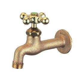 オンリーワンガーデン水栓不凍水栓不凍胴長横水栓HV3-DNT-E鋳肌鋳肌