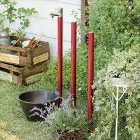 オンリーワンジラーレ水栓柱TK3-SAW+ジラーレカラーピラー+水鉢セットワインレッド