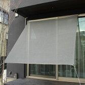 イチオリシェード プレーン 【屋外用日よけ 透過性と通気性へのこだわり 日本製 シェード】 36 チャコールブラック