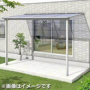 三協アルミシャルレ1階用アルミ色枠5間×4尺関東間ロング柱ポリカ板1500タイプ