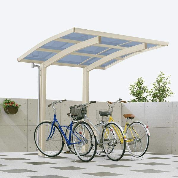 YKK ap レイナポートグラン ミニ 22-21 熱線遮断ポリカ屋根 基本セット 『自転車置場 サイクルポート 自転車屋根』:エクステリアのキロ支店