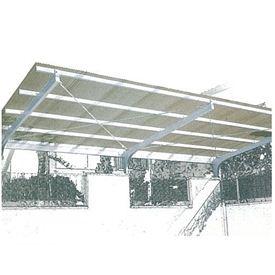 三菱樹脂 ポリカーボネート波板 ヒシ波ポリカ 9尺 10枚入り 【カーポート・テラスの屋根の修理、雨漏りなどのメンテナンスやリフォームをDIYで】 送料無料【三菱樹脂】カーポートやテラスの屋根張替えにぴったりです。