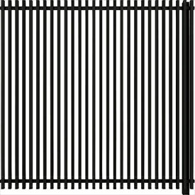 YKKapルシアススクリーンフェンスS02型連結用セットT160J(たて格子)『アルミフェンス柵』2017年6月から新仕様アルミカラー