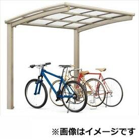 TOEX LIXIL ネスカR ミニ 基本 18-22型 標準柱(H19) ポリカーボネート屋根 『リクシル』 『自転車置場 サイクルポート 自転車屋根』:エクステリアのキロ支店