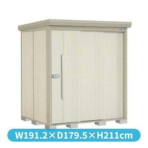 タクボ物置ND/ストックマン側面棚ND-1815Y一般型標準屋根『追加金額で工事も可能』『屋外用中型・大型物置』ムーンホワイト