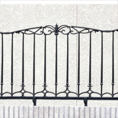 商品リンク:エクステリアキロさんの鋳物フェンス例1の写真画像