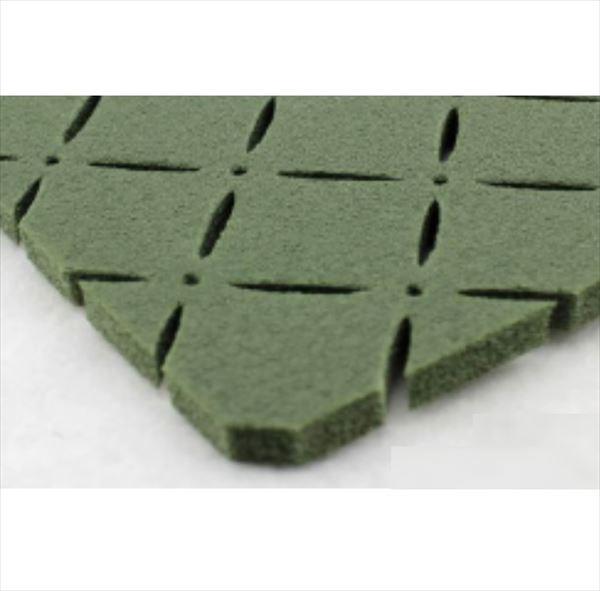 クローバーターフ ショックパッド 1m×10m SP50110 人工芝専用ショックパッド グリーン
