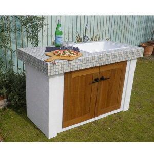 テック堂(マリーンテック)ガーデンシンク組み合わせ例D※蛇口・水栓金具・目皿・給排水管は別売りです