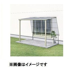 三協アルミレボリューA2.0間×8尺600タイプ/関東間/1階用F型/標準収まり/単体ポリカーボネート『テラス屋根』