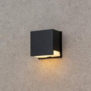 タカショー ウォールライト9型 (LED色:電球色) 12V用 HBG-D12K #73603400 『ローボルトライト』 『エクステリア照明 ライト』 ブラック