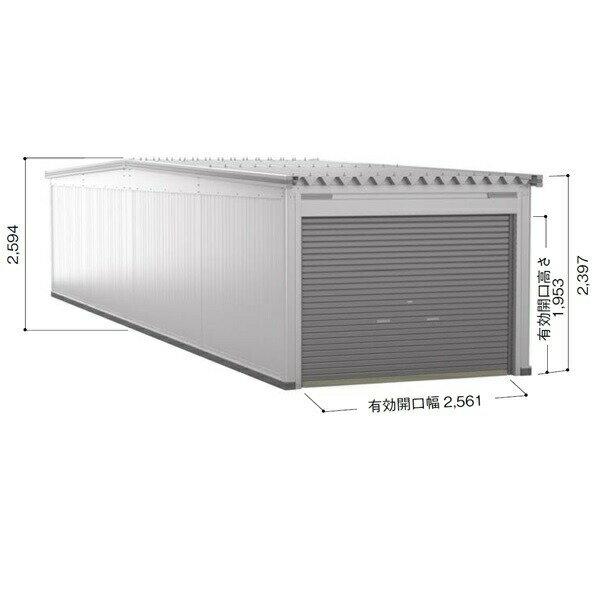 ヨドガレージラヴィージュ3縦連結タイプ一般型追加棟VGC-305262H*基本棟と同時に購入しないと商品の販売が出来ません『シャ