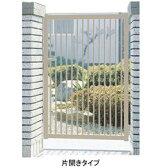 三協アルミ 形材門扉末広2型 0912 片開き門柱タイプ 【キロ特別企画!鍵付き錠に無料で変更可能です】