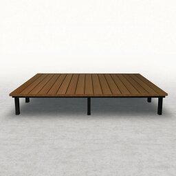 三協アルミ 人工木デッキ ひとと木キュアーズ 4間×9尺 関東間 ロング・固定束柱 NYD-2490L