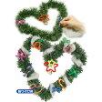 【クリスマス景品】クリスマスリース作り(5個入)《縁日 イベント 子ども会 子供会 夏祭り 景品 ノベルティ お祭り 問屋 キッシーズ kishis》