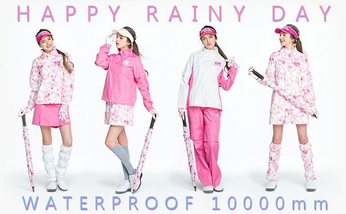 雨の日のゴルフも快適に♪レインウェア特集!