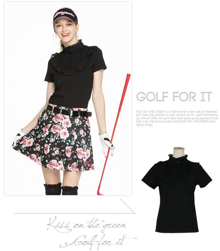 モノトーンの可愛いレディースゴルフウェア特集