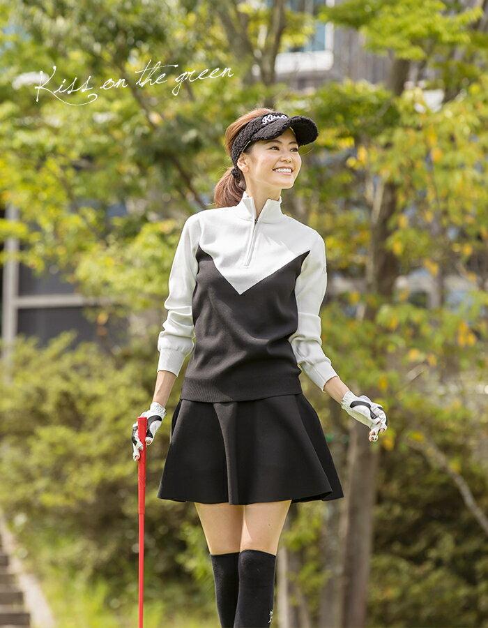 軽量ゴルフ用ニット特集!今季一押しのレディースゴルフウェアニットはコレ!