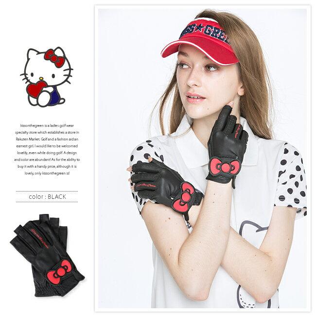限定Hello Kittyコラボ★キティちゃんグローブ【両手・指先開き】