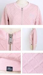 キルティングデザインジップアップジャケット