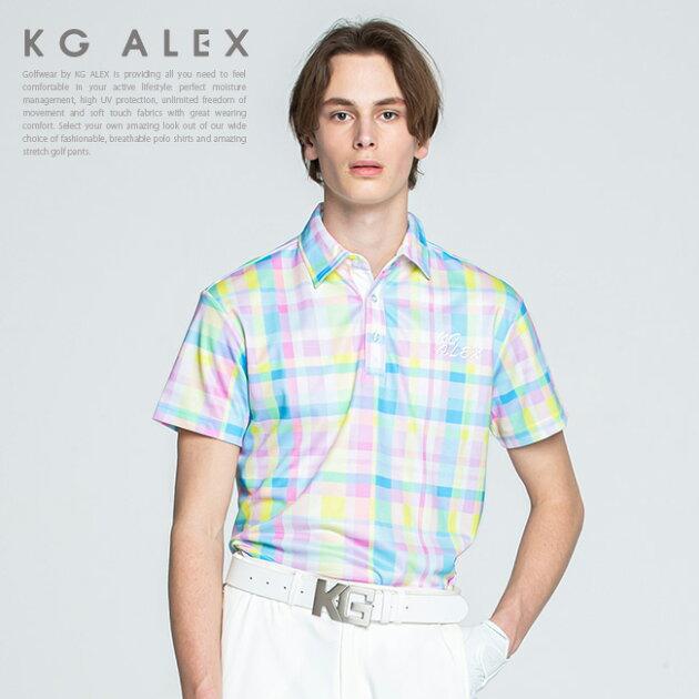 【10周年 特別企画】チェック柄半袖ポロシャツ【吸水速乾・UV加工・接触冷感】