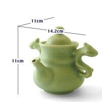 台湾茶器茶壺青磁(許徳家)