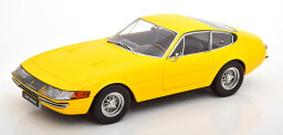 KK Scale 1/18 フェラーリ 365 GTB/4 ディトナ クーペ (イエロー) 1969