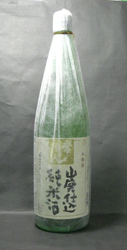 日本酒 山廃純米 常きげん 1800ml(箱なし)