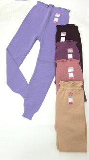 婦女毛線製造褲子預先(日本製造)M,L,LL毛線內褲毛線補丁緯編毛糸的內褲毛線的補丁緯編