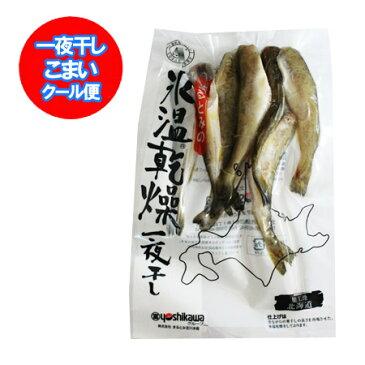「北海道 こまい 干物」 氷温乾燥 一夜干し 北海道産 こまい一夜干し 氷下魚 200 g×1個「干物こまい」