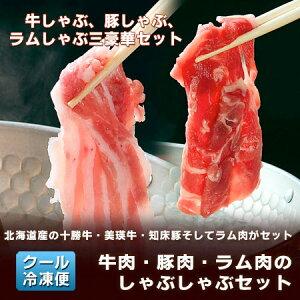 【しゃぶしゃぶ セット】これからの季節に嬉しい!北海道を代表する和牛・十勝和牛、びえい牛と...