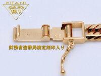 K18トリプル12面カット・キヘイネックレス50cm/30g