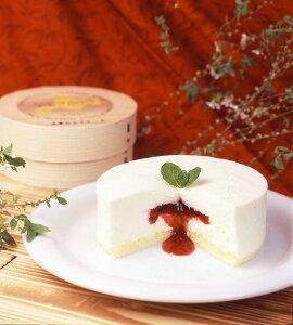 arles2のチーズケーキ贅沢・木苺のレアチーズケーキ