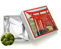 京の四季が描かれたかわいい小箱入り京・丹波ぶどう黒豆【抹茶黒豆しぼり】小箱入