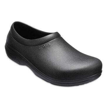 Crocs クロックス オン ザ クロック ワーク ブラック スリップオン 22cm CROCS crocs くろっくす サンダル レディース メンズ 男女兼用 On The Clock Work SlipOn