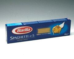 **【数量限定 激安価格!】BARILLA/バリラ スパゲティ NO.5 500g