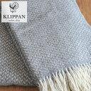 【北欧特集/ファブリック】**【北欧のふんわり・あったかスローケット】KLIPPAN/クリッパン ス...