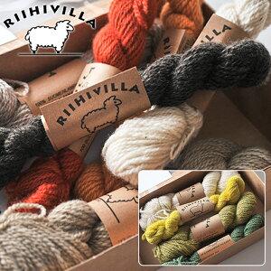 【北欧特集/雑貨】** RIIHIVILLA フィンランドのミトン キット 選べる2柄 【 手編み ミトンキッ...