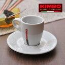 キンボ エスプレッソカップ&ソーサー 60mL 【 KIMBO コーヒ...