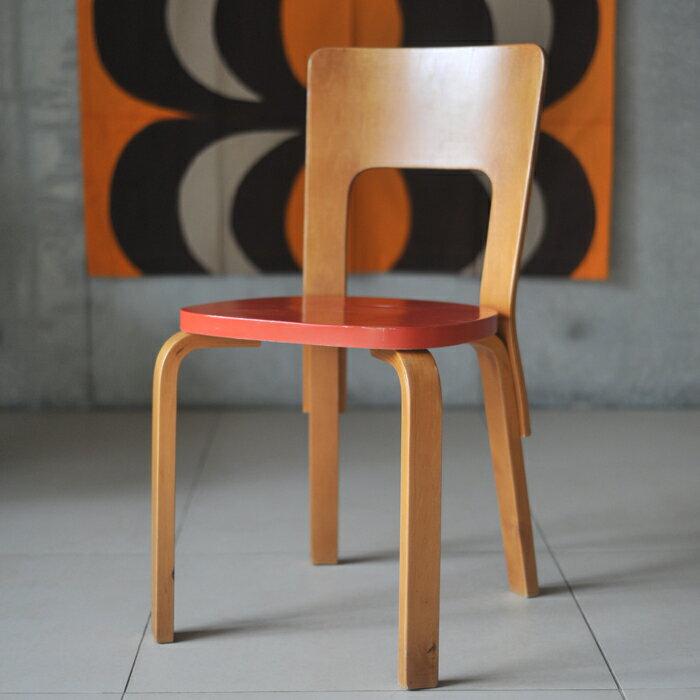 【 アンティーク 】 アルテック チェア 66 《 ビンテージ vintage ヴィンテージ 》 【 artek chair イス 椅子 チェアー キッチンブランチ 】:キッチンブランチ