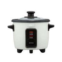 Toffy ミニライスクッカー K-RC1-AW アッシュホワイト 炊飯器