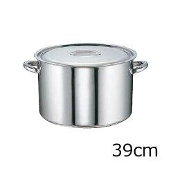 SAモリブデン半寸胴鍋(目盛付)39cm