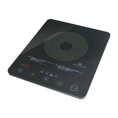 ドリテックフラット IH調理器 DI-106BK2 360×300×H58mm <ブラック>