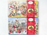 クリスマスノスタルジックチョコエンボス缶お菓子クリスマス【輸入食品】