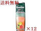 送料無料ジェンティーレ グァバジュース 1000ml1ケース(12本入り)1本あたり399円【輸入食品】