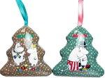 【新商品】クリスマスムーミンミニツリーシェイプティンお菓子クリスマス詰め合わせ【輸入食品】