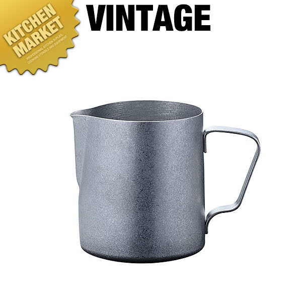 VINTAGE バールミルクジャグ350ml【kmaa】ミルクポット ミルクピッチャー ミルクジャグ ミルクマグ クリーマー コーヒーミルク入れ ステンレス 日本製