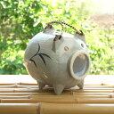 アシ絵 蚊取り豚 普通サイズ 1個 蚊取器/蚊取り器/線香ホルダー/蚊遣り 蚊やり かやり/かとり 業務用食器